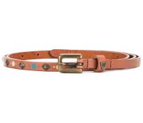 Rhombus belt - women - Leder - 75
