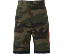 - Bermudas mit Camouflage-Print - men - Baumwolle