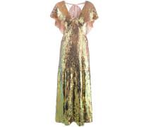 'Bardot' Abendkleid mit Pailletten