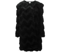 'Eco Fur' Mantel