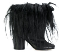 drawstring ankle boots