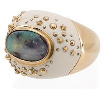 18kt  Mammoth Dome Galaxy ring