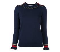 Pullover mit Voolants - women