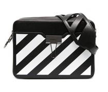 Kameratasche mit diagonalen Streifen