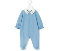 - bee embroidery pyjamas - kids - Baumwolle - 6 M.