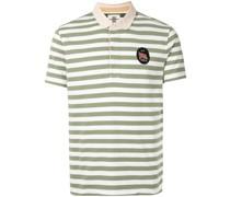 Gestreiftes Poloshirt mit Logo