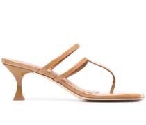 Sandalen aus Lackleder 60mm