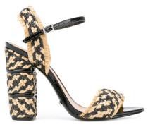 Kontrastierende Sandalen - women