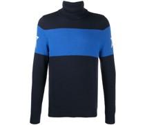 Jacquard-Pullover mit Sternen