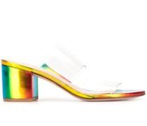 Sandalen mit holografischem Effekt