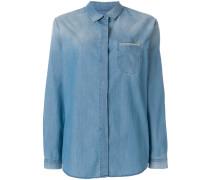 Hemd mit verzierter Brusttasche
