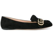 'Marmont' Wildleder-Loafer mit Verzierung