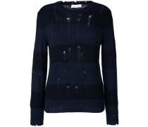 'Tys' Pullover in Distressed-Optik