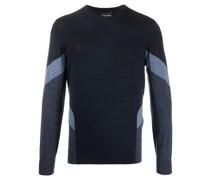 Pullover in Colour-Block-Optik