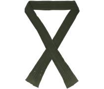 ribbed skinny scarf