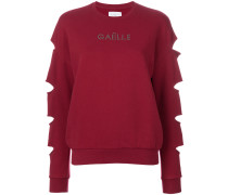 long sleeved cut out jumper