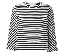 striped long-sleeve T-shirt - women - Baumwolle