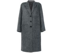 Oversized-Mantel aus Woll-Alpakawollgemisch