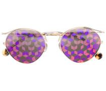 'Geo' Sonnenbrille mit geometrischem Print
