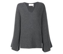Ungesäumter Kaschmir-Pullover