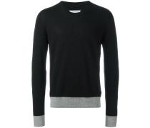 Pullover mit Ellenbogen-Patches