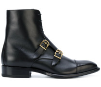 buckle-strap boots