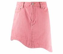 Asymmetrischer Jeans-Minirock
