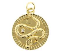 18kt 'Wholeness' Gelbgoldhalskette mit Diamanten