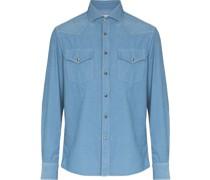 two-pocket corduroy shirt