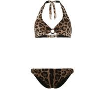 Bikini mit Leoparden-Print