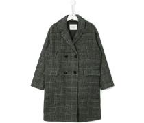 Teen houndstooth coat