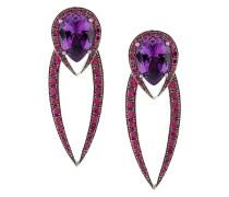 18kt gold Aurora earrings