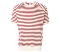 short sleeved stripe T-shirt