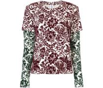 Sweatshirt mit Blumen-Print