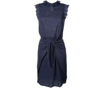 - Kleid mit Kordelzug - women - Leinen/Flachs - S