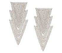 Hängeohrringe mit Kristallen