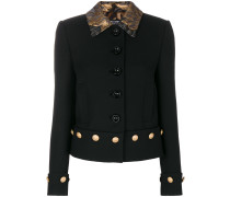 brocade collar jacket