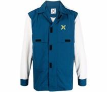 Leichte Jacke mit Logo-Print