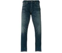 Jeans mit Tragefalten