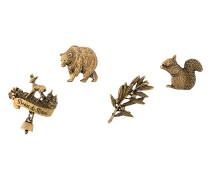 Pins mit Tiermotiven