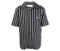 Gestreiftes Bowlinghemd