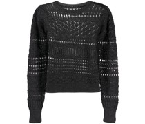 Pullover in Häkeloptik