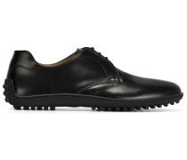 Derby-Schuhe mit Gummisohle