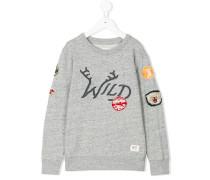 wild patchwork sweatshirt