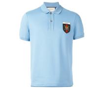 Web crest polo shirt