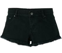 Ausgefranste Jeans-Shorts - women