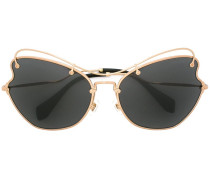 'Scenique' Sonnenbrille - women - Acetat/Metall