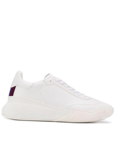 Sneakers mit Streifendetail
