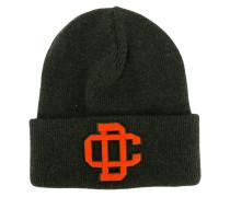 - embroidered logo ski knit hat - men - Wolle