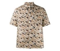 Hemd mit Palmen-Print - men - Baumwolle - 42